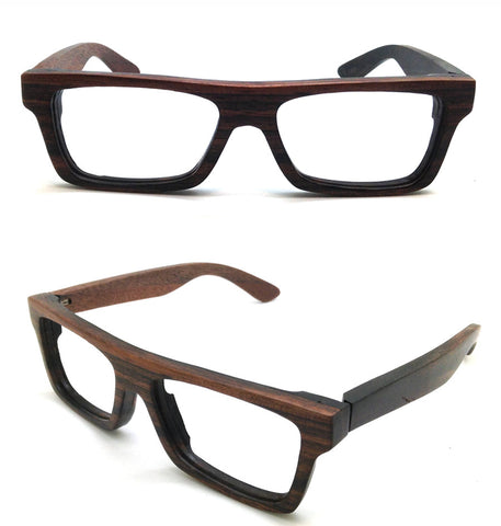 76f37e7490f KNIGHT by TAKEMOTO ebony wood TAKEMOTO prescription sunglasses large glasses