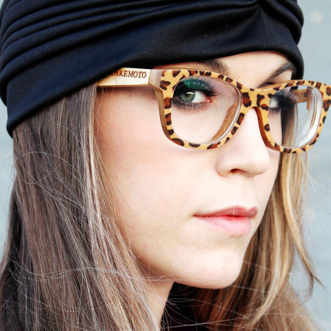 bamboo eyeglasses WALKER2012