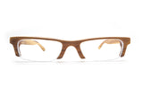 olive wood LOVE-WOOD semi-rimless