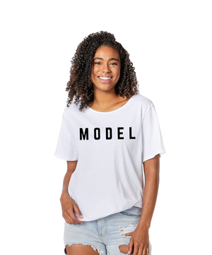Model Makers: The Rendezvous Raw Edge Tee