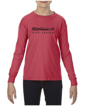 RISE Center Youth Long Sleeve Tee Shirt