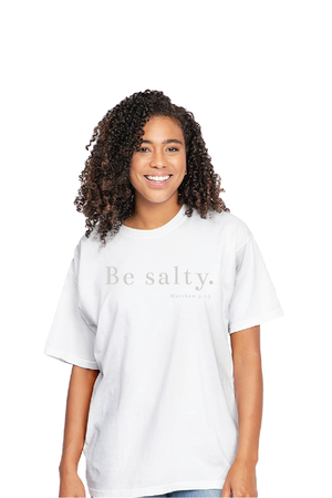 FUMCT Adult: Be Salty - White