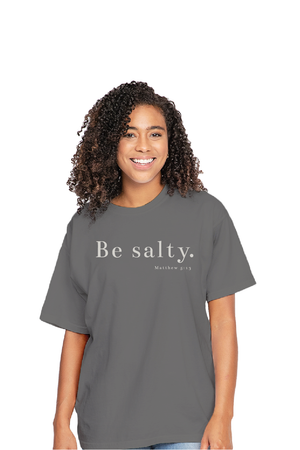 FUMCT Adult: Be Salty - Grey