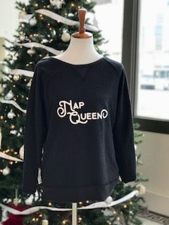 Nap Queen~Boss Babe Reversible Sweatshirt