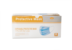 Adult Disposable Masks (Box of 50)