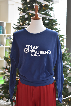 Nap Queen Oversized Long Sleeve