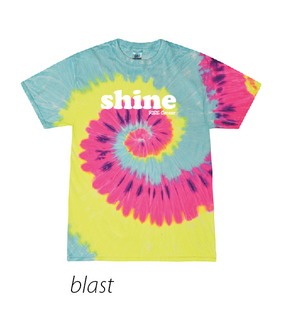 RISE CENTER TIE-DYE YOUTH SHORT SLEEVE TEE