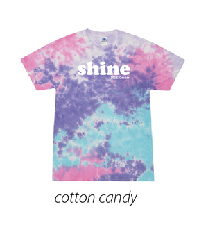 RISE CENTER TIE-DYE ADULT SHORT SLEEVE TEE