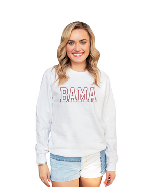 Bama: The Eye Candy Embroidered Sweat