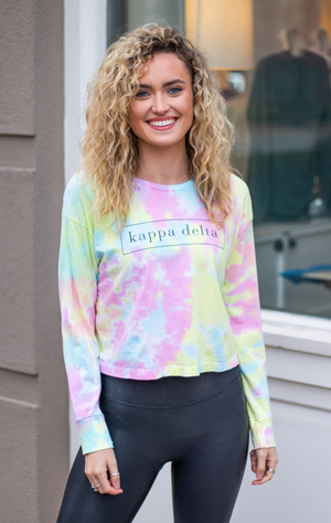 kappa delta: the twisted tie-dye tee
