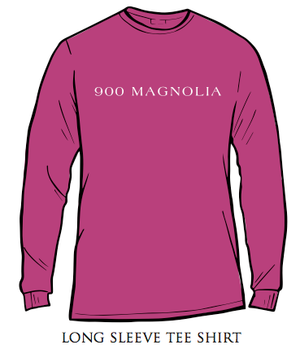 Delta Zeta 900 Magnolia Long Sleeve Shirt Rasberry