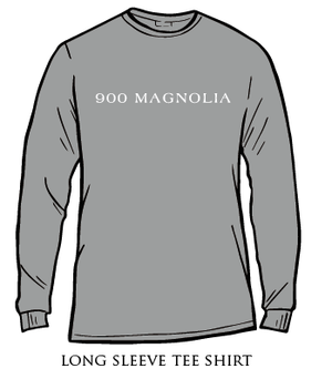 Delta Zeta 900 Magnolia Long Sleeve Shirt Grey