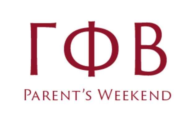 Gamma Phi 2019 Parents Weekend Pocket Tee