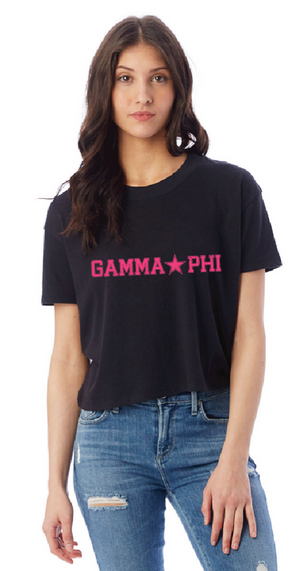 Gamma Phi 2019 Crop Top (PRESALE)