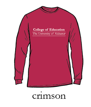 UA College of Education Long Sleeve T-Shirt