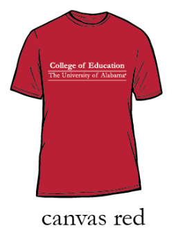 UA College of Education Jersey T-Shirt