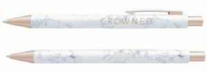CROWNED MARBLE PEN
