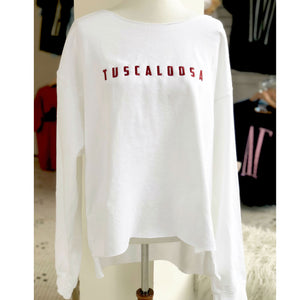 Tuscaloosa Distressed Sweatshirt