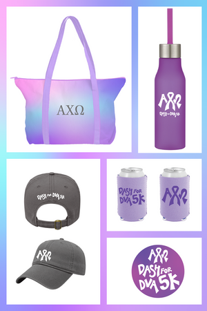 Dash for DVA: AXO Member Swag Bag