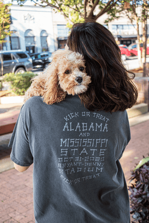 Alabama vs. Mississippi State Game Day 2020 Comfort Color T-Shirt