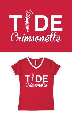 Crimsonette TIDE T-shirt