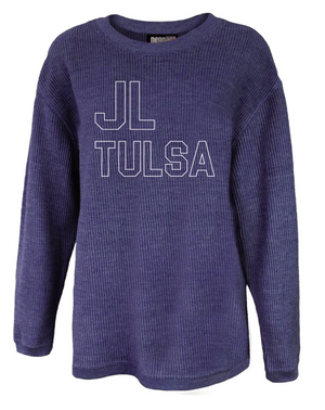 Junior League of Tulsa: Washed Corded Crew