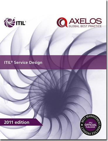 ITIL® Service Design Publication, 2011 Edition