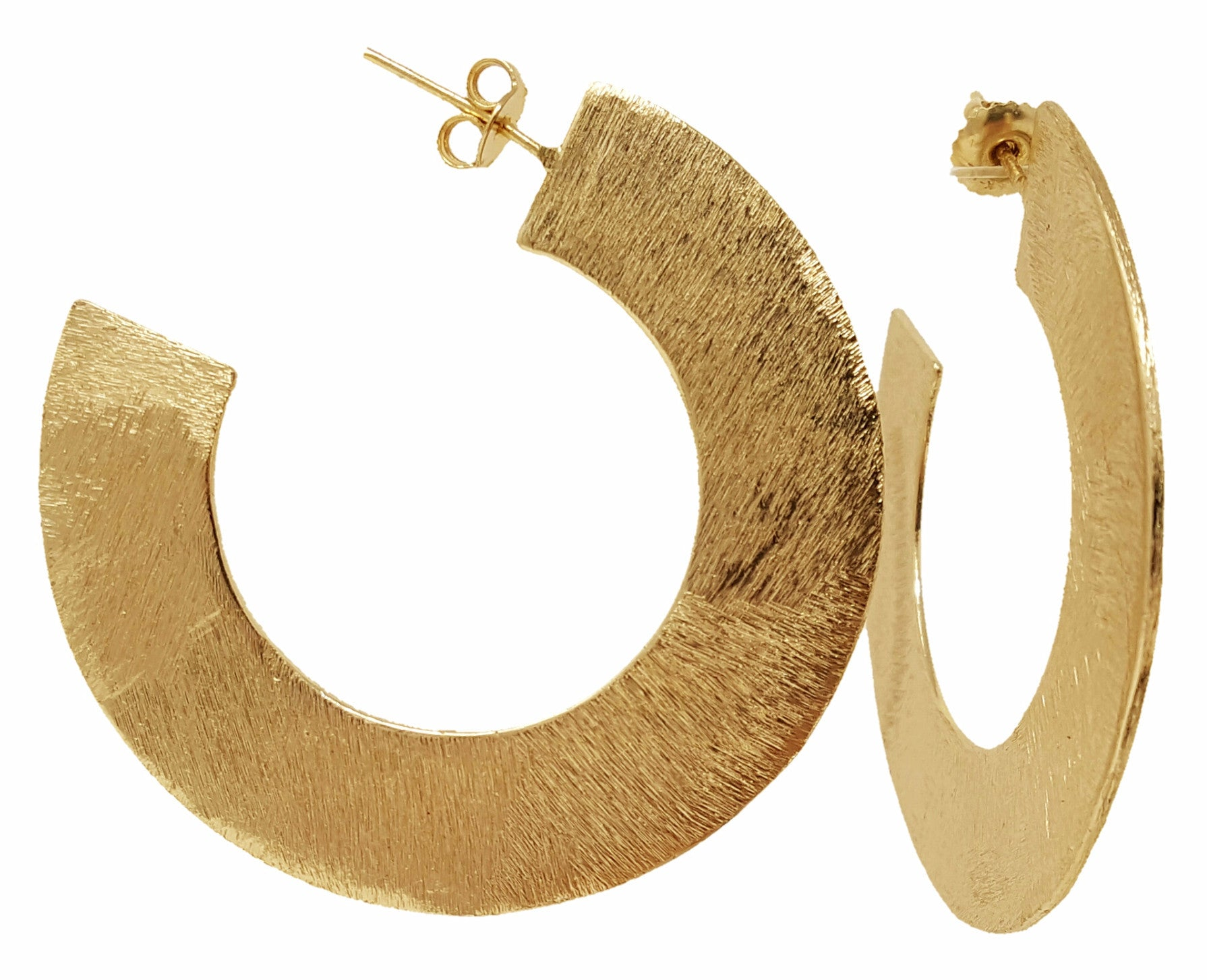 Gold Hoop Earring - SARAJANEaccessories