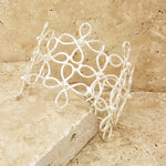Swirly Daisy Cuff - SARAJANEaccessories