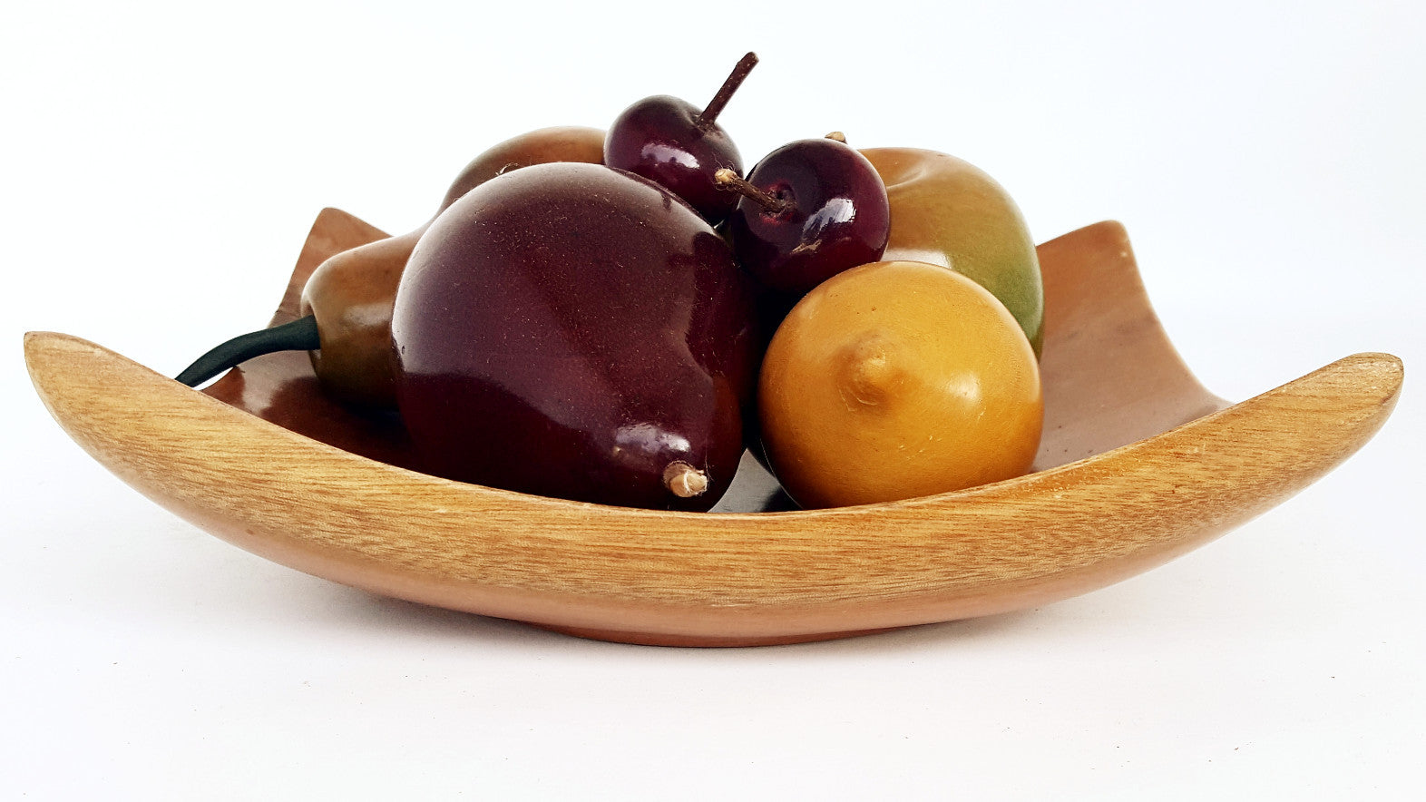 Wooden Fruit a la Mid-Century - SARAJANEaccessories