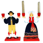 Swedish Couple Candlesticks - SARAJANEaccessories