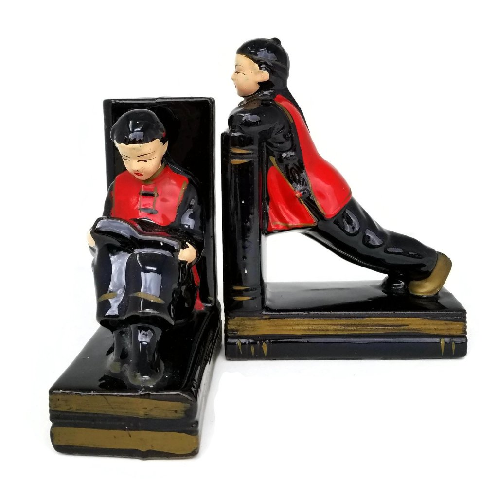 Chinese Children Bookends - SARAJANEaccessories