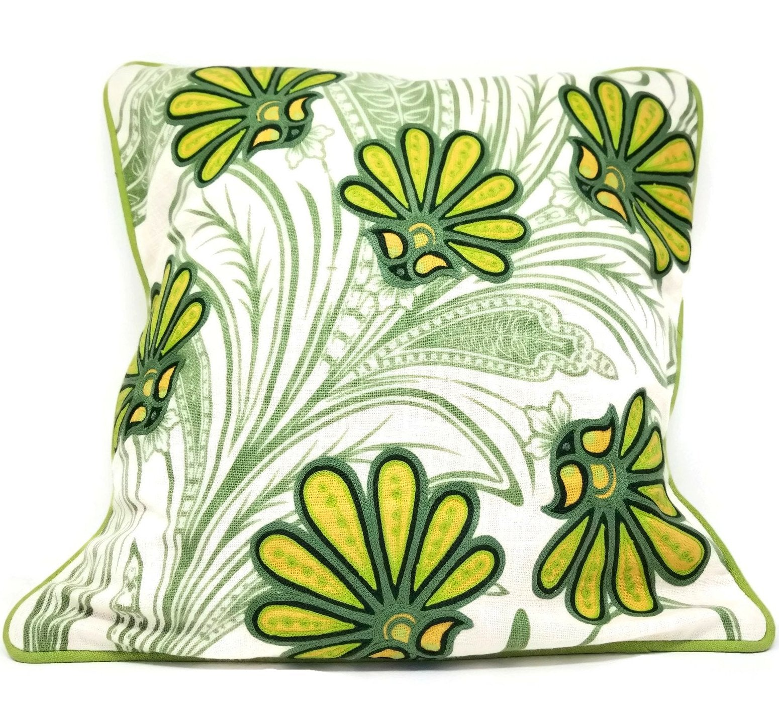 Punch of Color Pillow - SARAJANEaccessories