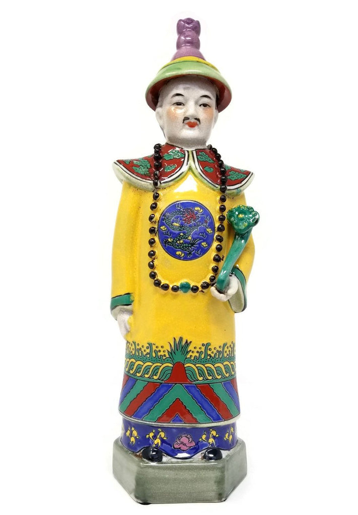 Chinese Emperor Kang Xi Figurine