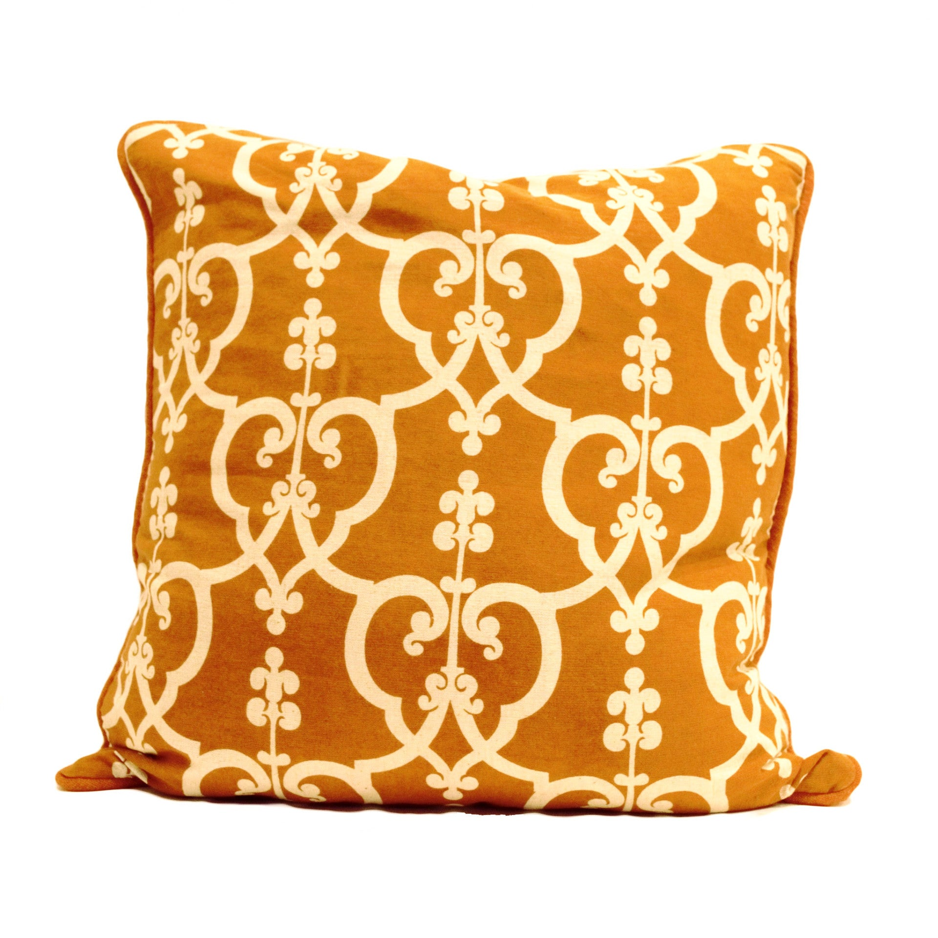 Pillow With Scrolled Design - SARAJANEaccessories