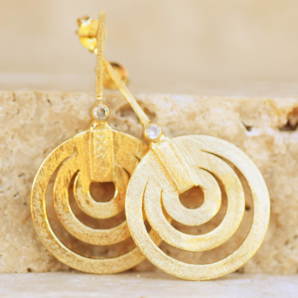 Circles of Gold - SARAJANEaccessories