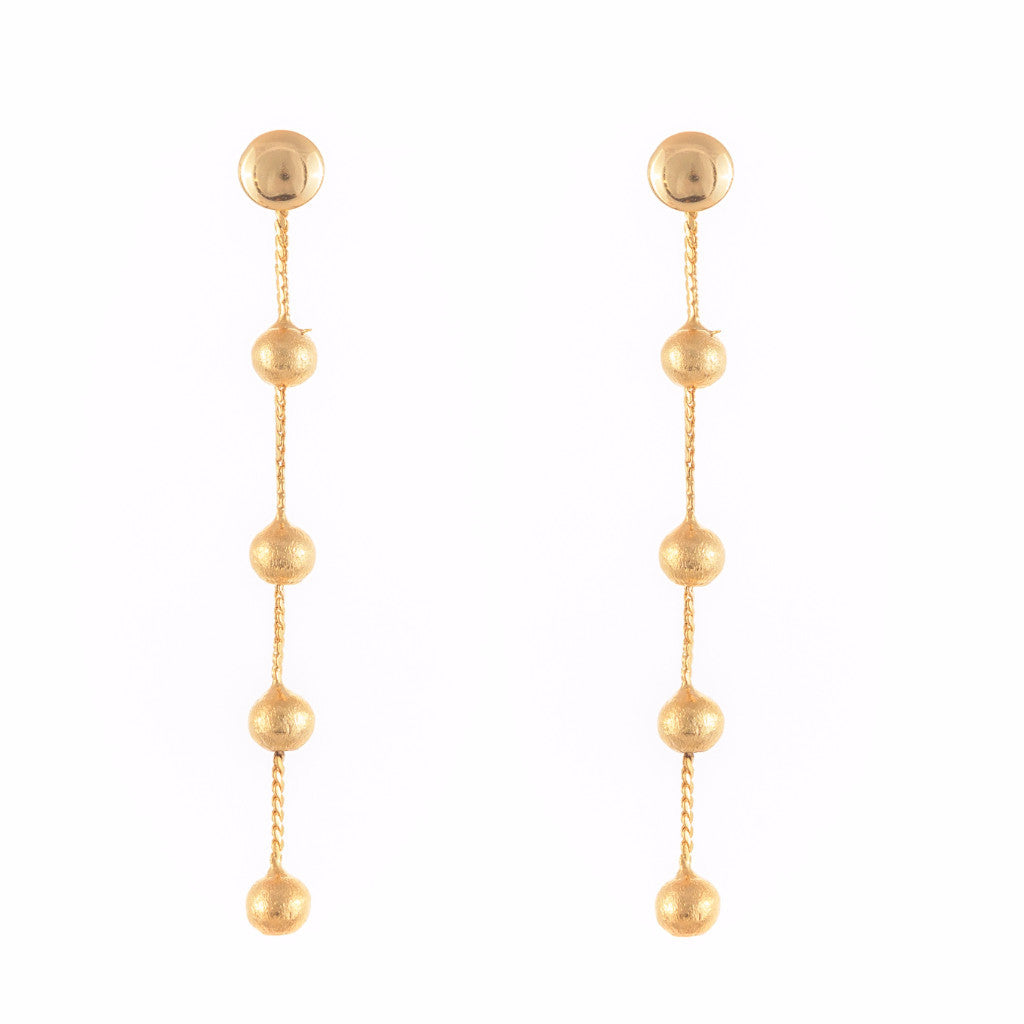 Long Gold Earring - SARAJANEaccessories
