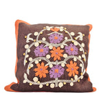 PillowWith Folk-style Embroidery - SARAJANEaccessories - 1