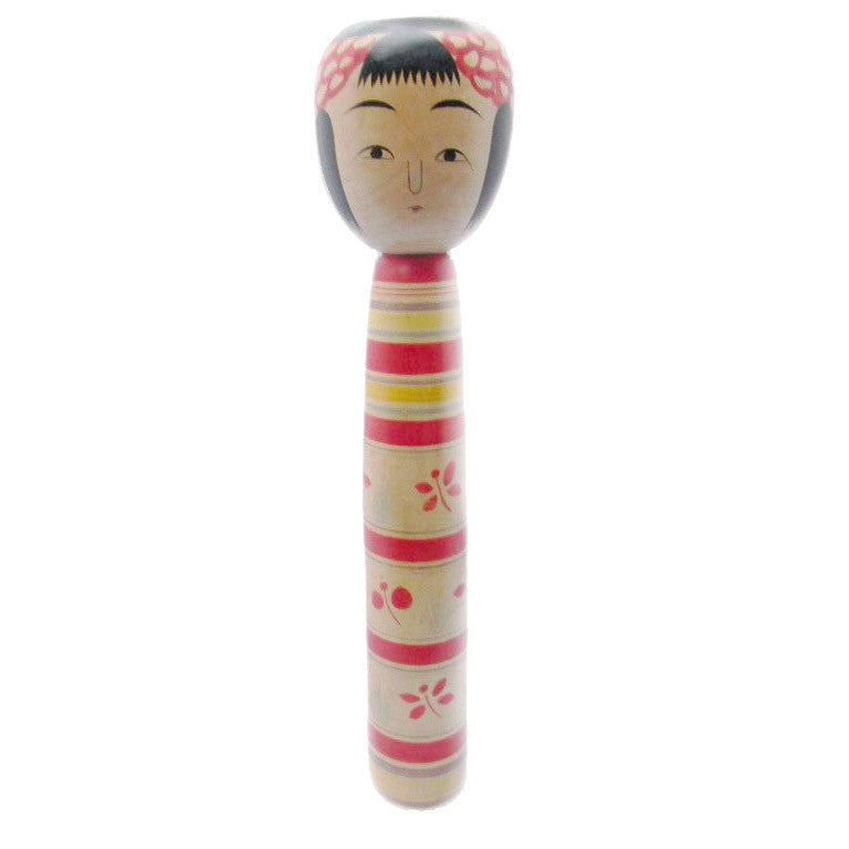 Wooden Kokeshi Doll-Signed - SARAJANEaccessories