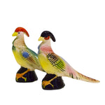S/P Shakers Hand-painted Pheasants - SARAJANEaccessories