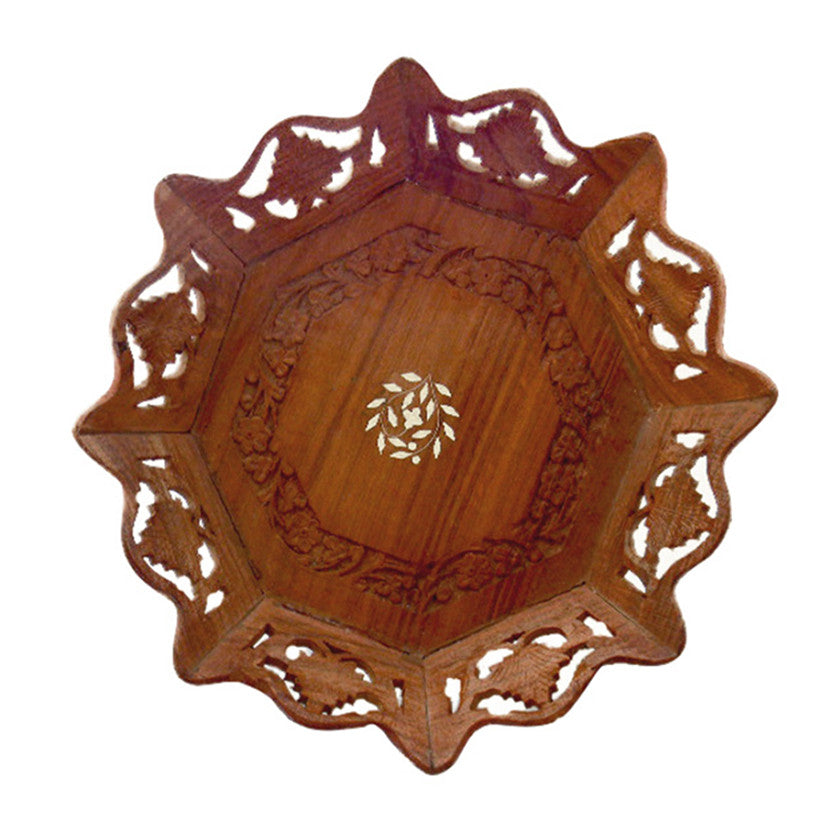 Wooden Decorative Plate - SARAJANEaccessories