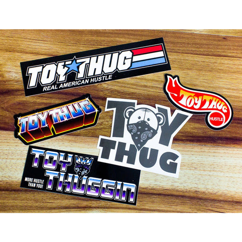 Official Toy Thug Sticker Pack! - ToyThug