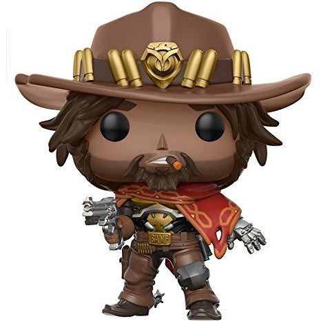 Games: Overwatch Action Figure - McCree with box protector!