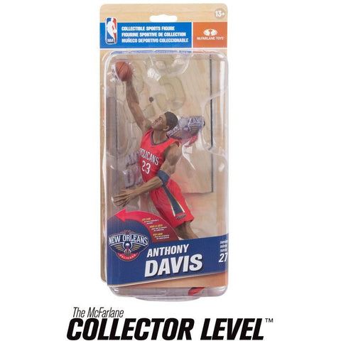 New Orleans Pelicans NBA Series 27 Action Figure: Anthony Davis (Silver Level Variant) - ToyThug