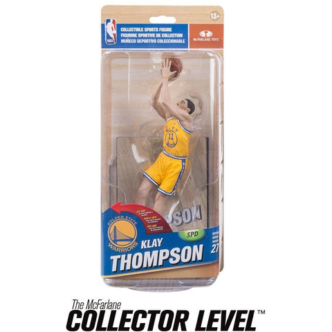 Golden State Warriors NBA Series 27 Action Figure: Klay Thompson (Bronze Level Variant) - ToyThug