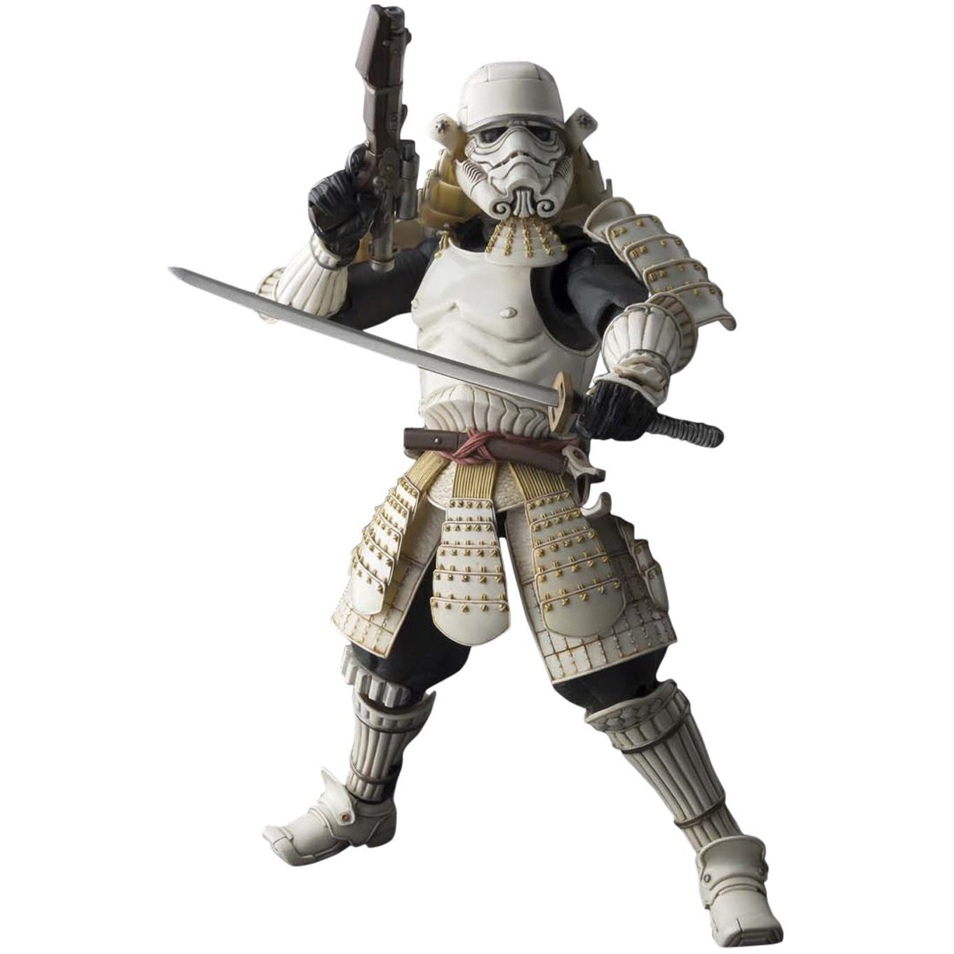 Bandai Tamashii Nations Meishou Movie Realization Teppou Ashigaru Sandtrooper Action Figure - ToyThug
