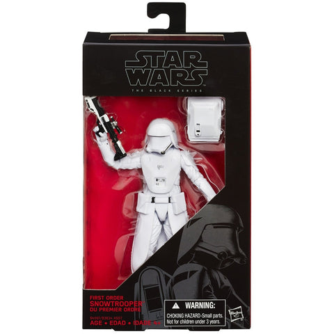 Star Wars: Black Series 6-Inch First Order Snowtrooper Action Figure - ToyThug