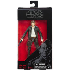 Star Wars: The Force Awakens Black Series 6 Inch Han Solo - ToyThug