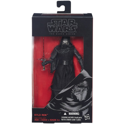 Star Wars: The Force Awakens Black Series 6 Inch Kylo Ren - ToyThug