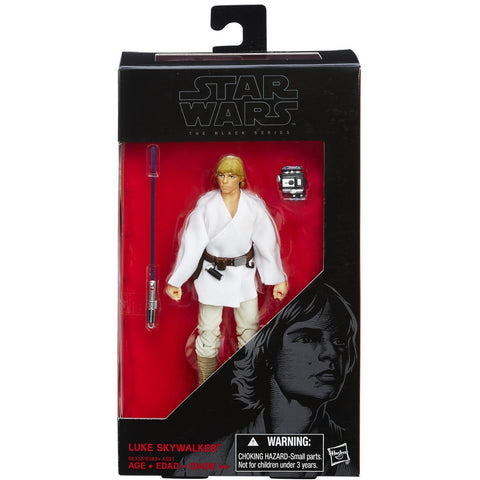 Star Wars: A New Hope Black Series 6 Inch Luke Skywalker - ToyThug